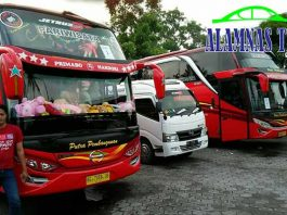 Harga Sewa Bus Pariwisata di Kediri Murah Terbaru